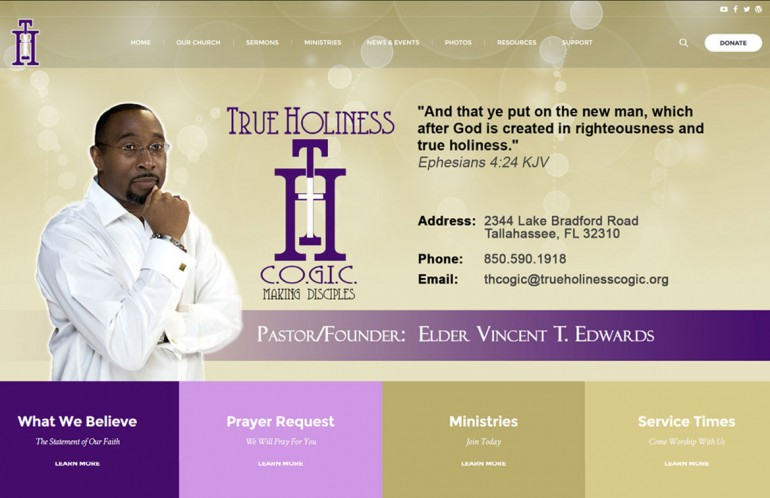 True Holiness C O G I C  – Sirius Web Solutions