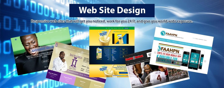 Sirius Web Solutions web site design