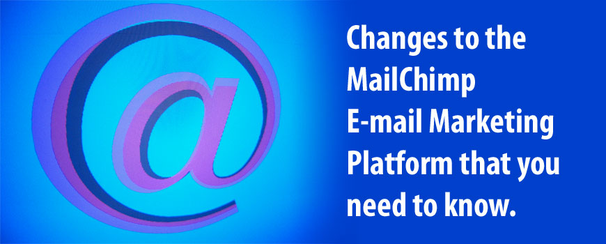 mailchimp account changes